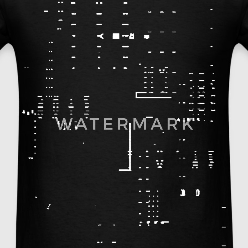 Glitch  - Men's T-Shirt