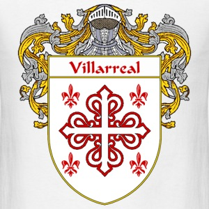 Villarreal Coat of Arms/Family Crest - Men's T-Shirt