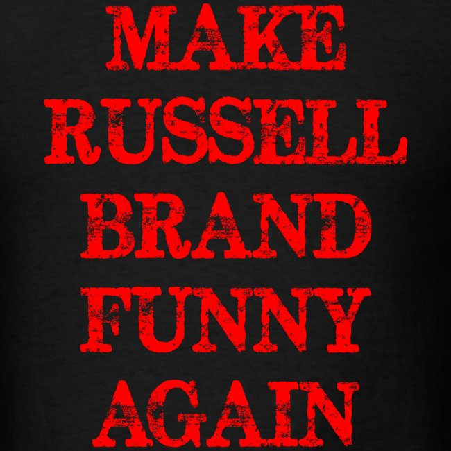 Funny make Russel Brand funny again