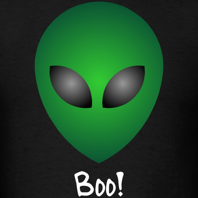 Scary funny alien boo