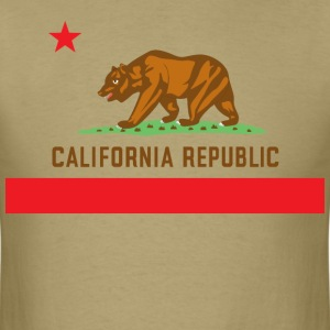 California State Flag T-Shirt - Men's T-Shirt