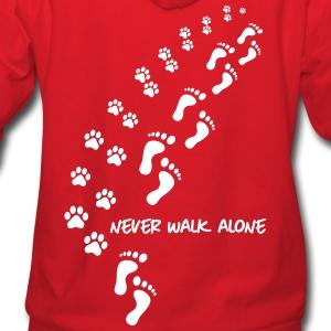 never walk alone dog huma