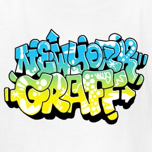 LAWE/SUB53 Design for New York Graffiti Color Logo - Kids' T-Shirt