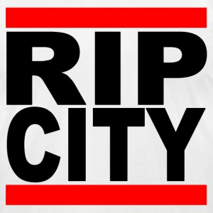 Run RipCity (Black) T-Shirts - Men's T-Shirt by American Apparel