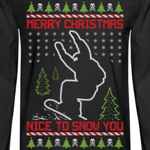 Ugly Christmas Snowboard