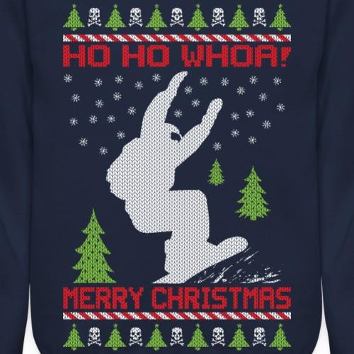 Ugly Snowboard Christmas