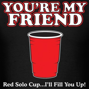 RED solo_cup - Men's T-Shirt