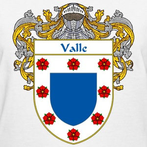 Valle Coat of Arms/Family Crest - Women's T-Shirt
