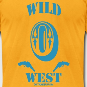 Russell Westbrook Wild West T-Shirt - Men's T-Shirt by American Apparel