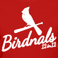 Design ~ Birdnals 12 in 12 Shirt Women Red