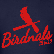 Design ~ Birdnals 12 in 12 Shirt Men Blue