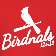 Design ~ Birdnals 12 in 12 Shirt Men Red