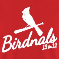 Design ~ Birdnals 12 in 12 Shirt Men Red