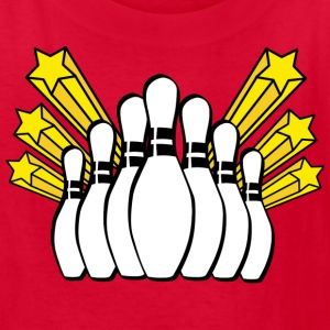 Bowling Pins - Kids' T-Shirt