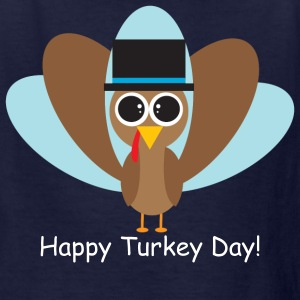 Happy Turkey Day! - Kids' T-Shirt