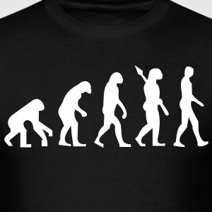 evolution_of_man - Men's T-Shirt