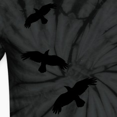 1 color - raven mystical crows flying birds T-Shirts