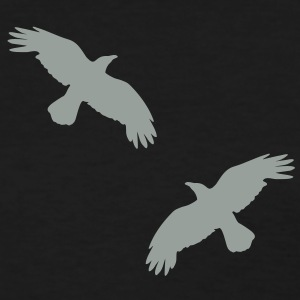1 color - raven mystical crows flying birds Women's T-Shirts - Women's T-Shirt