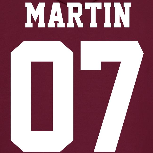 """MARTIN 07"" - Hoodie (XL Logo, NBL)"