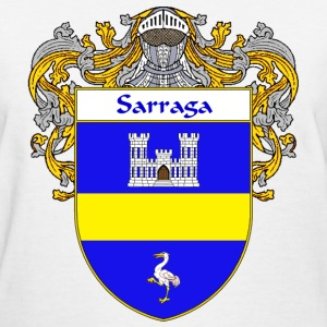 Sarraga Coat of Arms/Family Crest - Women's T-Shirt