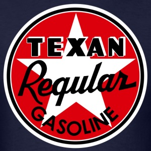 Texan Gasoline T-Shirts - Men's T-Shirt