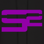 Design ~ SoaR Sniping Purple Logo Hoodie