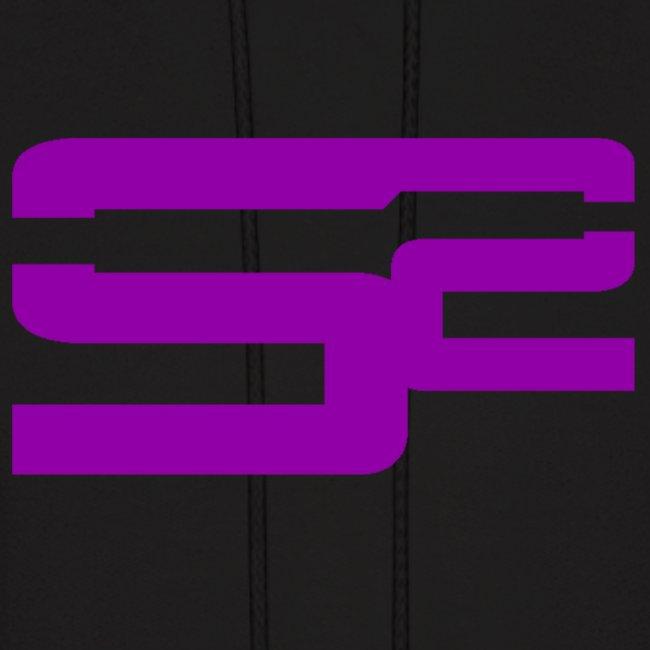 soarsnipings official apparel soar sniping purple logo hoodie