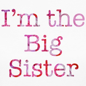 I'm The Big Sister Long Sleeve Shirts - Women's Long Sleeve Jersey T-Shirt