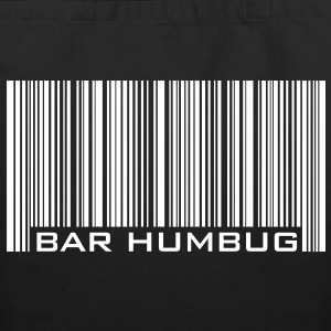 Bar Humbug - Anti-Christmas Logo Bags  - Eco-Friendly Cotton Tote