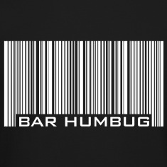 Bar Humbug - Anti-Christmas Logo Long Sleeve Shirt