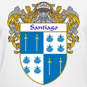 Santiago Coat of Arms/Family Crest - Women's T-Shirt