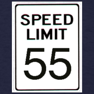 Speed Limit 55 - Men's T-Shirt