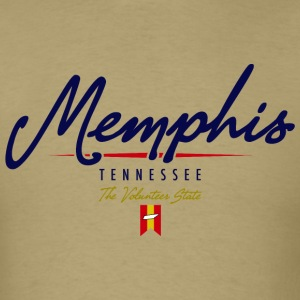 Memphis Script Standard Weight T-Shirt - Men's T-Shirt