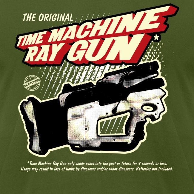 Time Machine Ray Gun AA