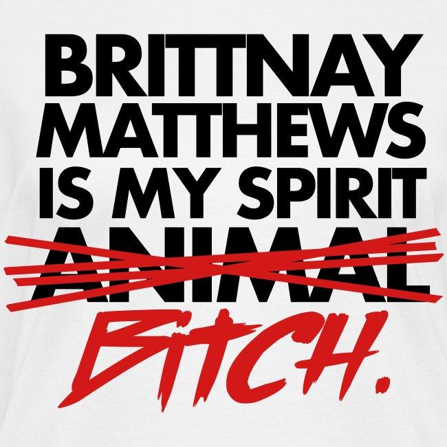 Spirit Bitch Women's V-Neck