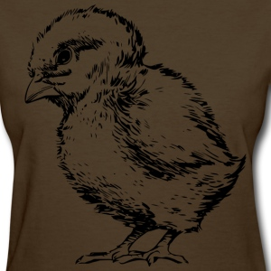 Chick Outlined - Women's T-Shirt