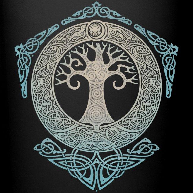 bas prix cc485 a46ff YGGDRASIL.TREE OF LIFE. | Full Color Mug