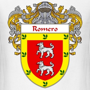 Romero Coat of Arms/Family Crest - Men's T-Shirt