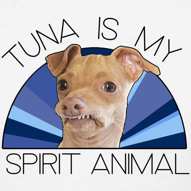Tuna is my Spirit Animal Women's Tee (Holiday Blue)