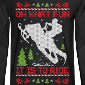 Snowmobile Christmas Fun
