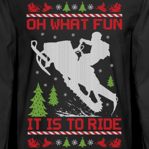 Snowmobile Christmas Fun