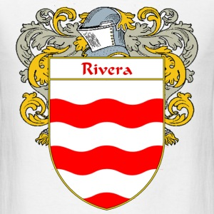 Rivera Coat of Arms/Family Crest - Men's T-Shirt