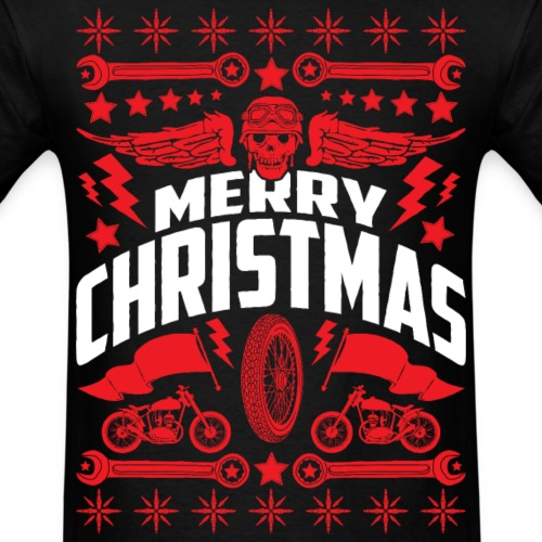 Ugly Christmas Sweater Motorcycle