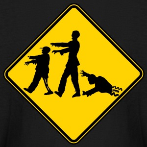 Zombie X-ing Kids' Shirts - Kids' Long Sleeve T-Shirt