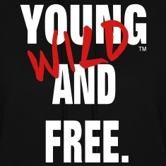 YOUNG WILD AND FREE Hoodies