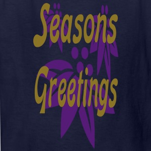 seasons_greetings3 Kids' Shirts - Kids' T-Shirt