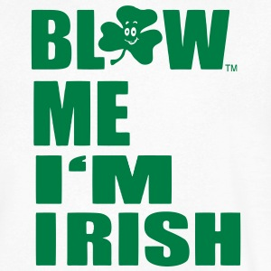 BLOW ME I'M IRISH T-Shirts - Men's V-Neck T-Shirt by Canvas