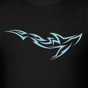 Shark Tribal Tattoo 2 T-Shirts - Men's T-Shirt