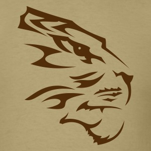 Tiger Tribal Head Tattoo 1 T-Shirts - Men's T-Shirt
