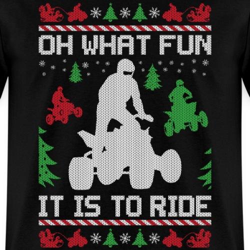 Ugly Christmas ATV Quad